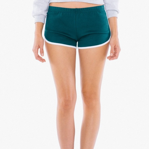 American Apparel Pants - American Apparel Interlock Running Short